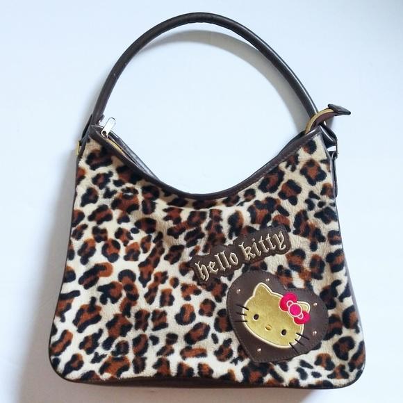 Hello Kitty Handbags - Hello Kitty leopard print purse